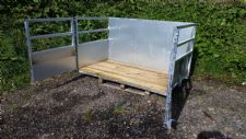 5FT Galvanised 3 Point Link Tractor Stock Farming Box WOOD FLOOR Price inc VAT
